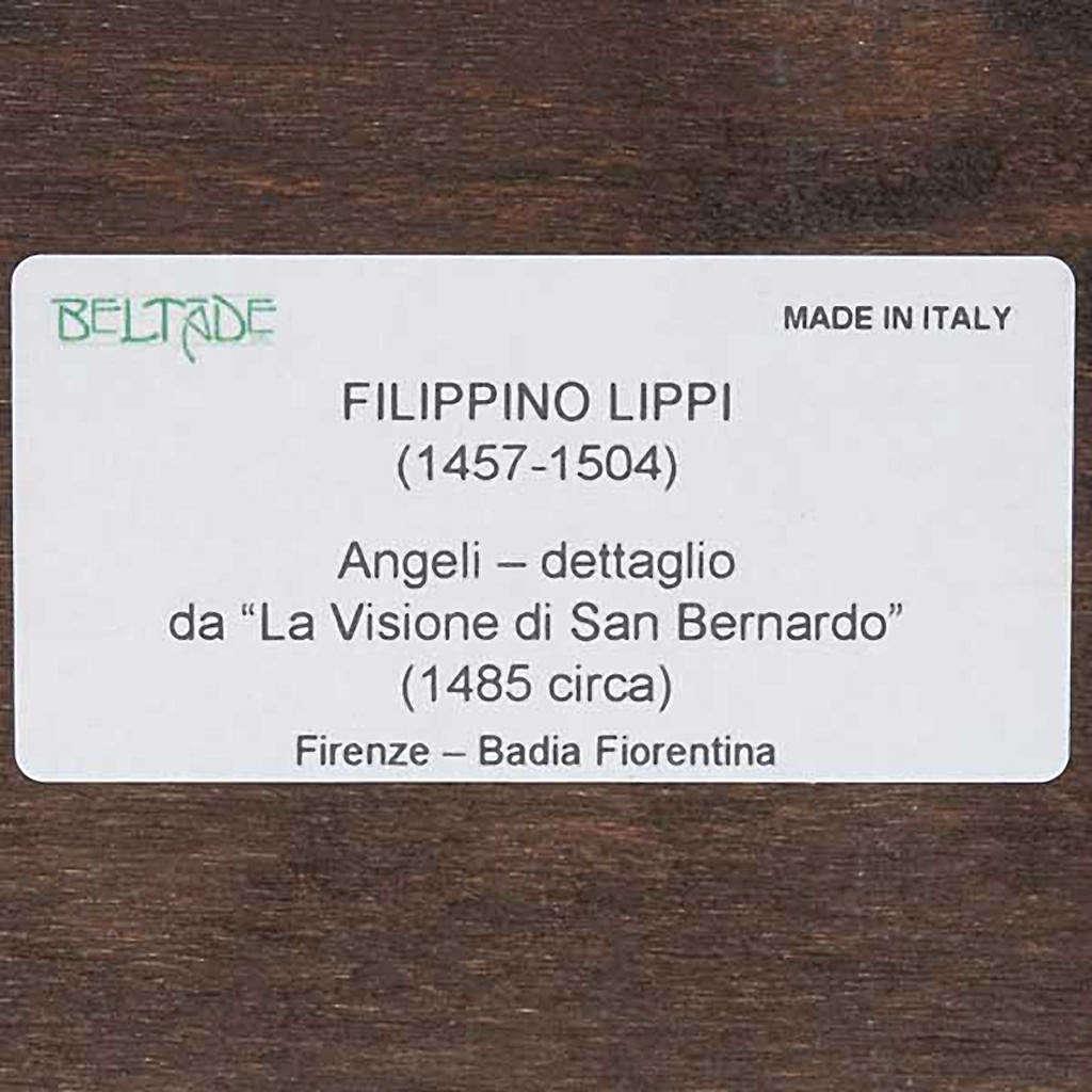 Stampa Angeli su legno con cornice 3