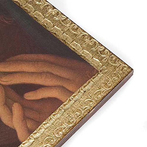 Stampa Angeli su legno con cornice 2