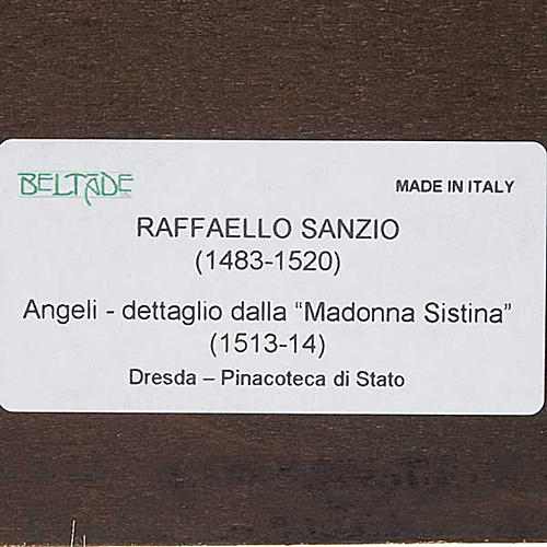 Anges de Raffaello sur bois 8