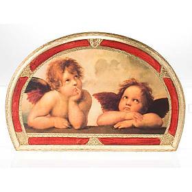 Stampa Angeli di Raffaello su legno s3