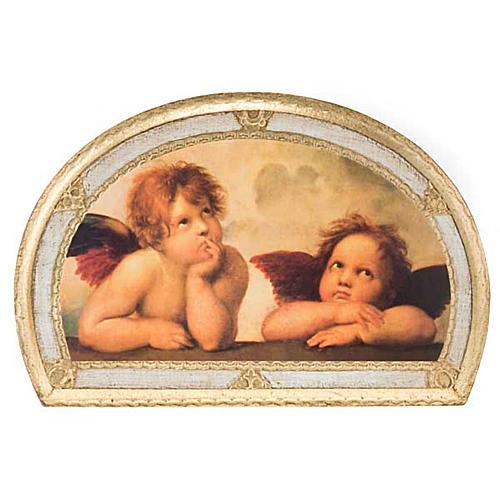 Stampa Angeli di Raffaello su legno 6