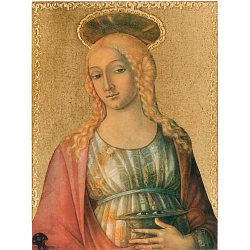 Stampa legno Santa Lucia 1
