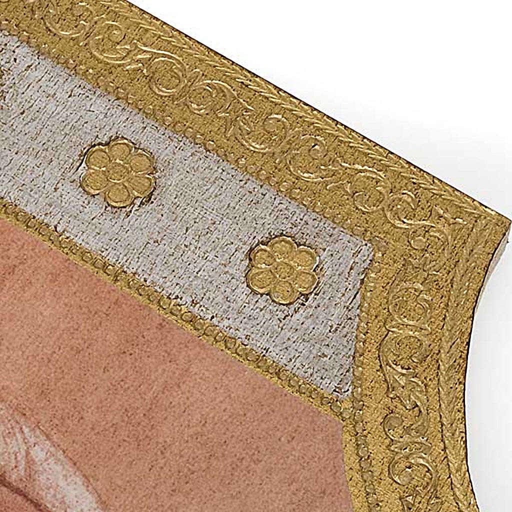 Stampa Giovanni Paolo II legno 3