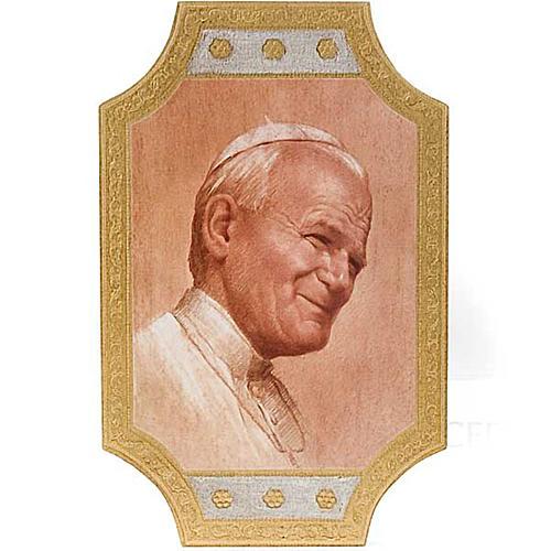 Stampa Giovanni Paolo II legno 1