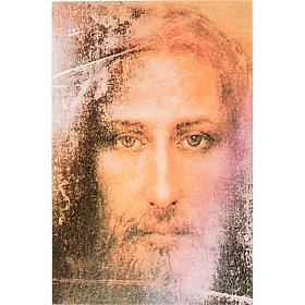 Print on wood, Face of Jesus of the Holy Shroud s1