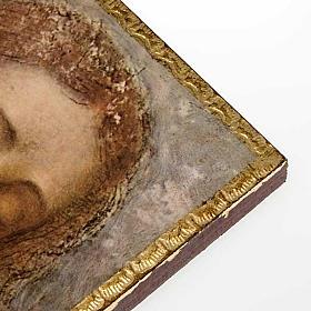 Druk 'Odkupiciel' Leonarda na drewnie s2