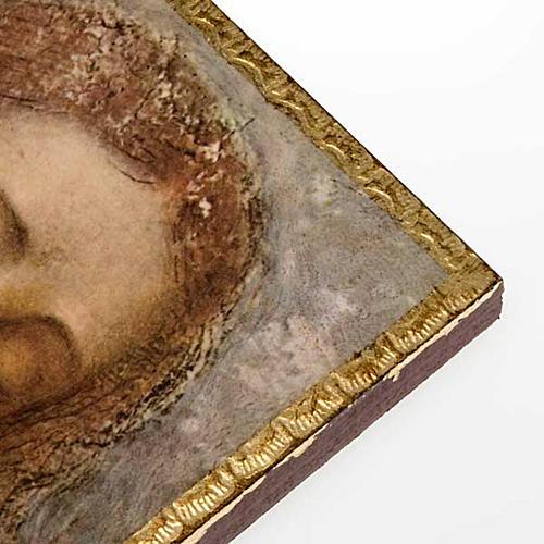 Druk 'Odkupiciel' Leonarda na drewnie 2