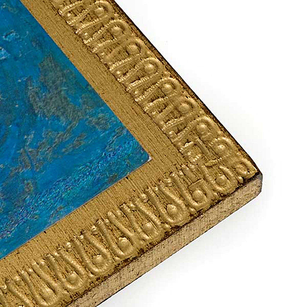 Stampa legno San Francesco d'Assisi 3