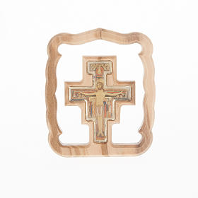 Quadretto da tavolo croce San Damiano