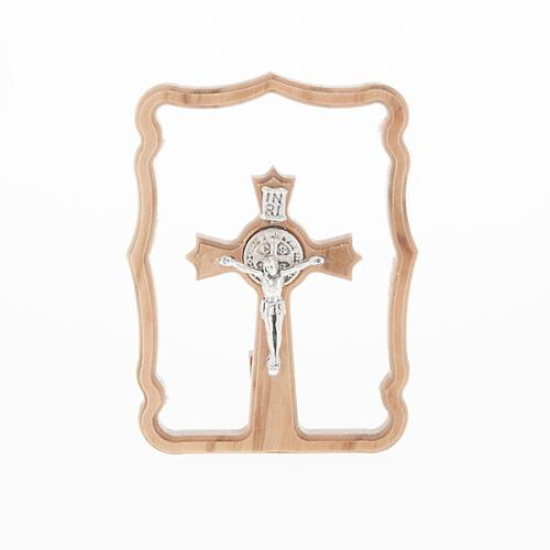 Quadretto da tavolo croce San Benedetto 1