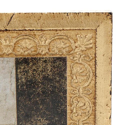 Impressão madeira Última Ceia Leonardo 3