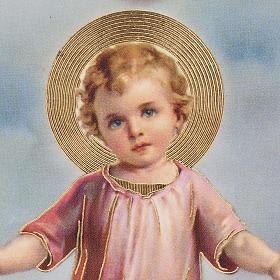 Stampe legno cuore Gesù Bambino s2