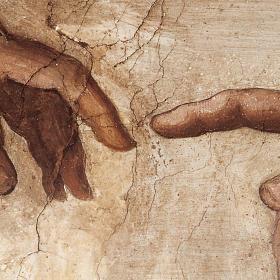 Tavola legno Creazione Cappella Sistina s2