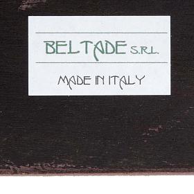 Druckbild aus Holz Madonna mit Kind R. Blanc s3