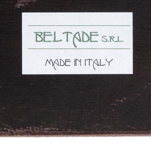 Druckbild aus Holz Madonna mit Kind R. Blanc 3