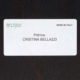 Cuadro madera Sagrada Familia Bellazzi fondo beis s4