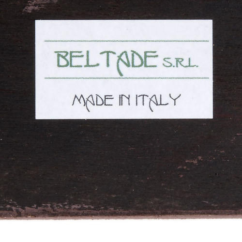Cuadro madera Sagrada Familia Bellazzi fondo beis 6