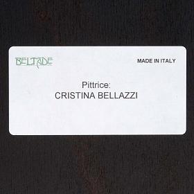 Quadro legno stampa Sacra Famiglia Bellazzi s6
