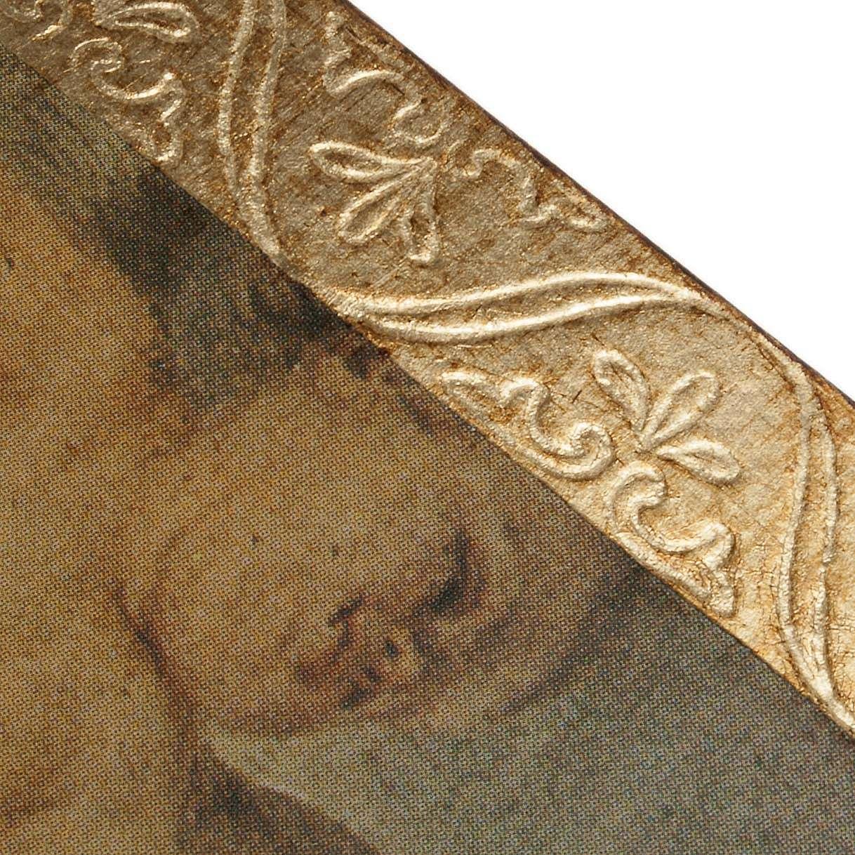 Tableau impression sur bois Sainte Anne de Murillo 3