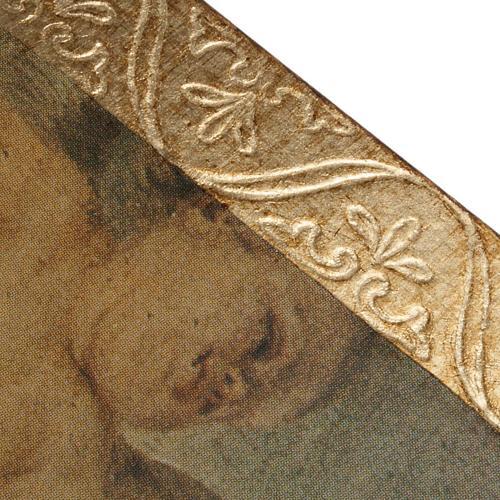 Quadro legno stampa Sant'Anna del Murillo 4