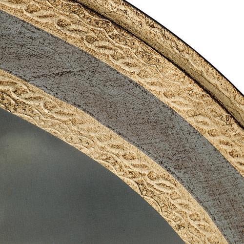Natività stampa su legno ovale 60x80 cm 5