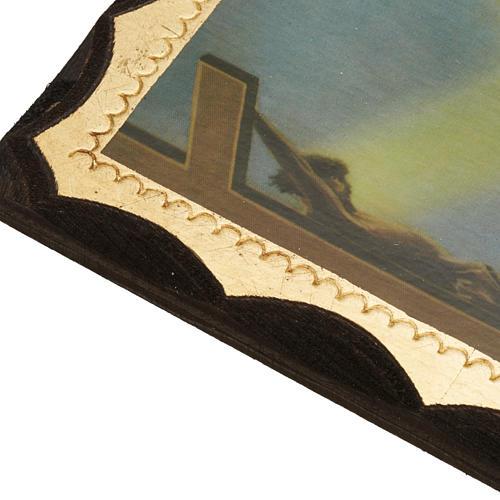 Quadro Santa Rita stampa su legno 3