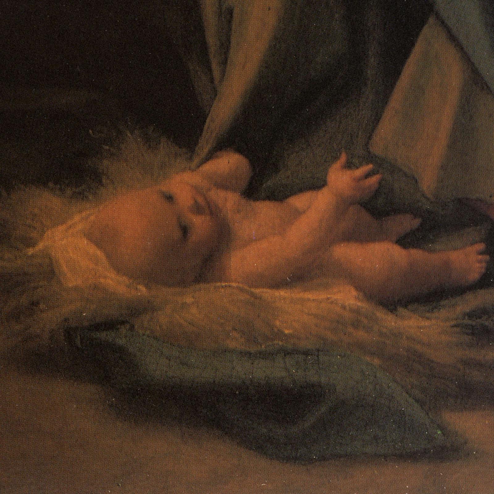 Nativité de Correggio imprimée sur bois 3