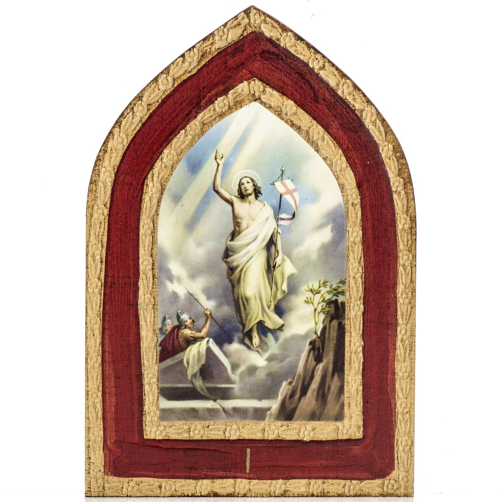 Stampa su legno Misteri Gloriosi 5 quadri 3