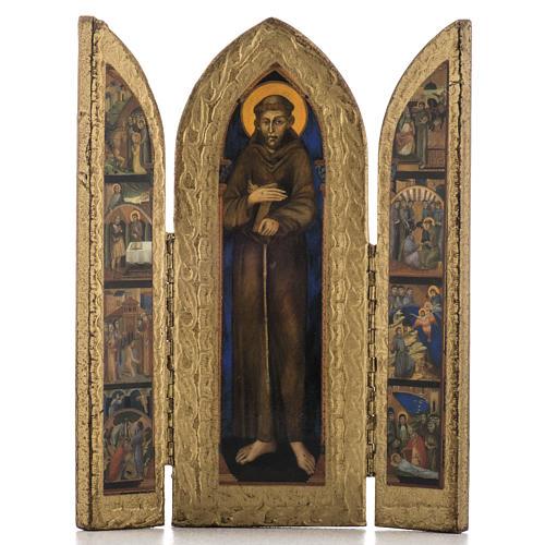 Trittico Francescano 1