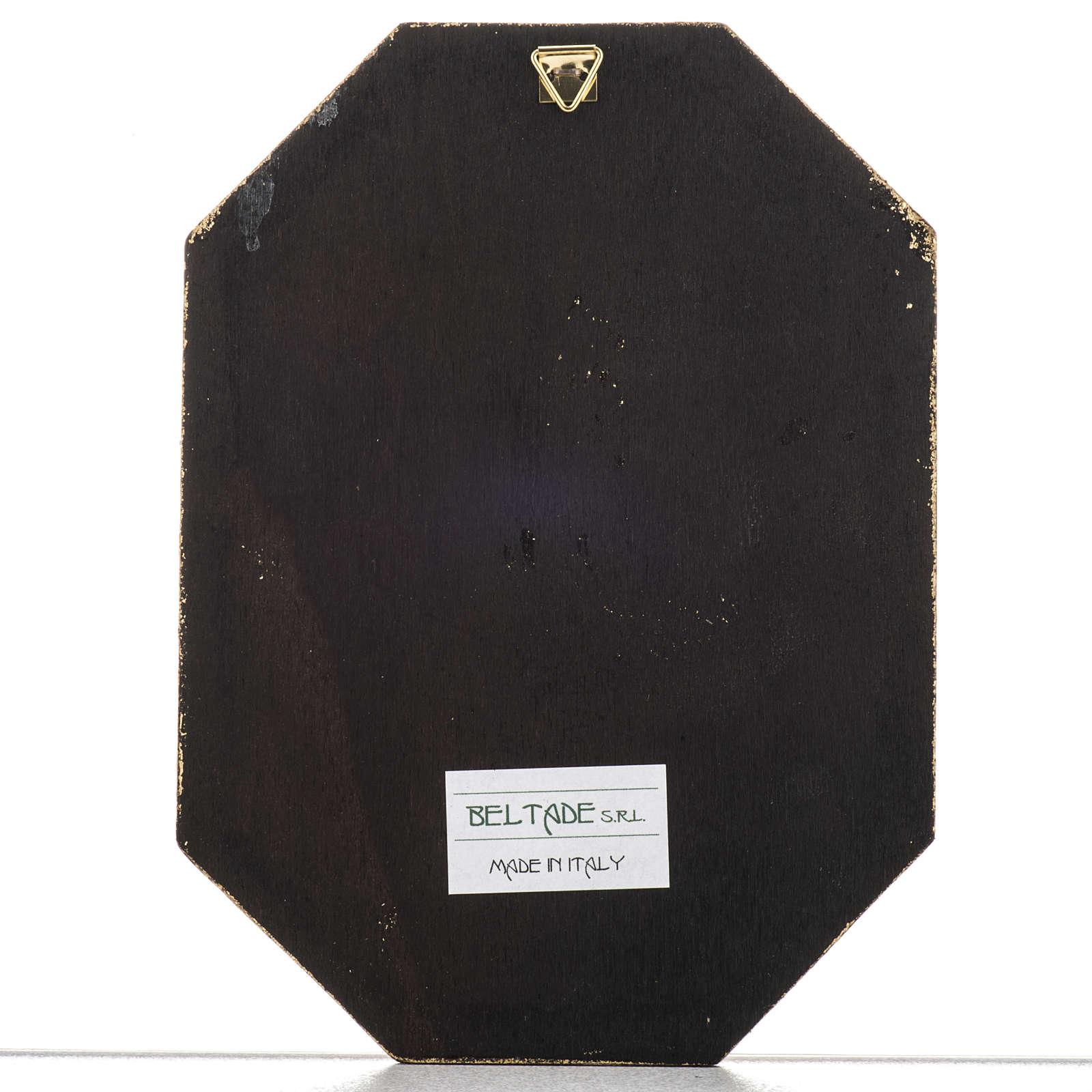 Tavola legno San Francesco 3