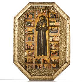 Tavola legno San Francesco s1