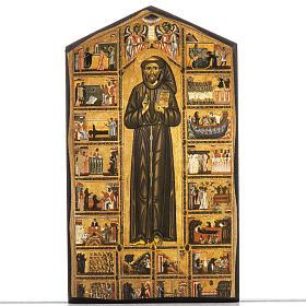 Stampa su legno San Francesco s1