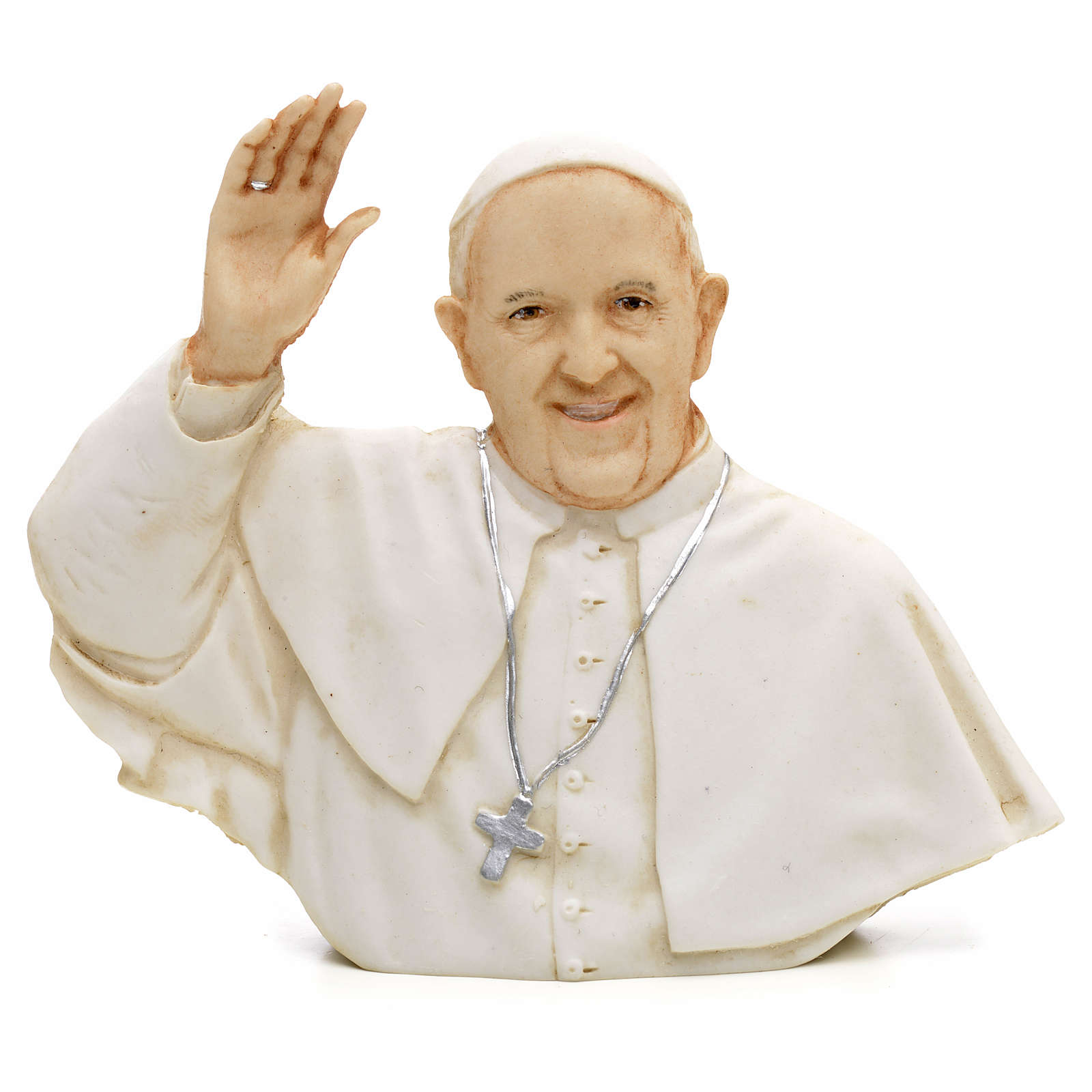 Pope Francis small bas relief 3