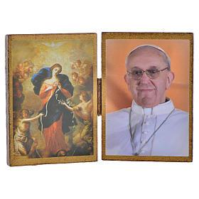Dittico Papa Francesco - Madonna scioglie i nodi s1