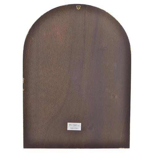 Druck Barmherzigkeit auf Holz, 40x30cm 2