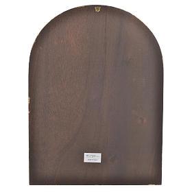 Druk na drewnie logo Jubuileusz Miłosierdzia 40 X 30 s2