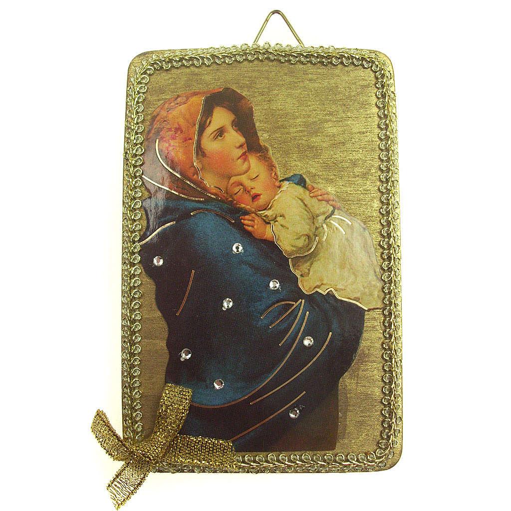 Imagen Virgen Ferruzzi madera 3