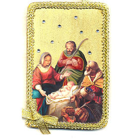 Image of the Nativity, Adoration of the Magi in wood s1