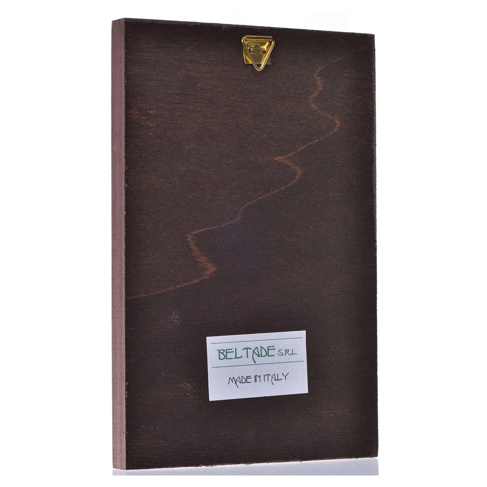 Stampa su legno il Redentore di Leonardo 3