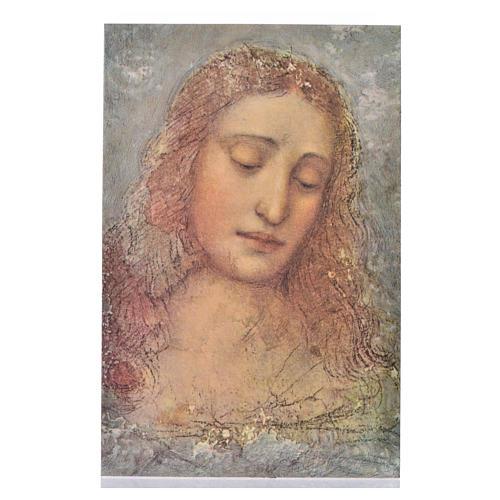 Stampa su legno il Redentore di Leonardo 1