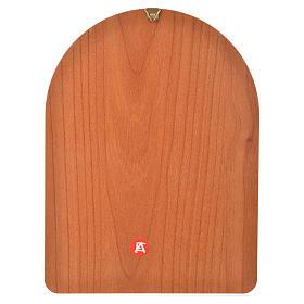 Stampa su legno 15x20cm Lourdes