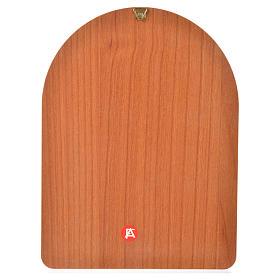 Stampa su legno 15x20cm Sacra Famiglia s2