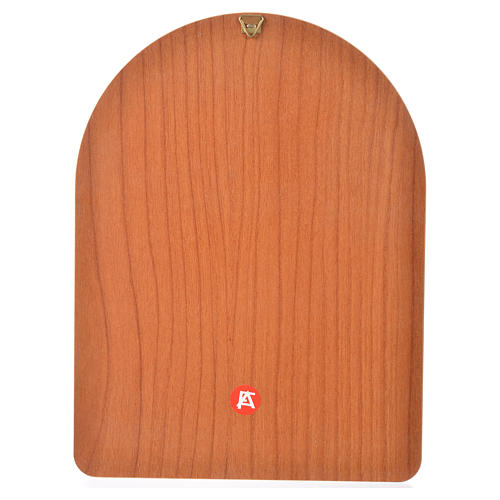Druk na drewnie 15 X 20cm Jezus Miłosierny 2