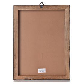 Stampa su pannello legno Divina Misericordia 40x30 cm s3