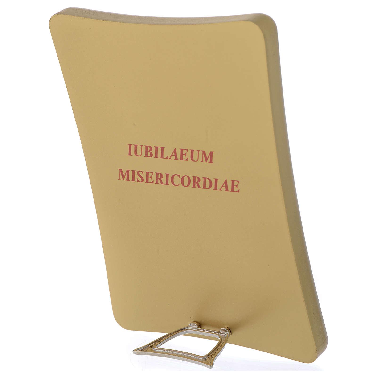 STOCK Druckbild mit Logo des Jubilaeum der Barmherzigkeit 17x12 cm 3
