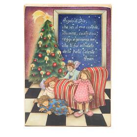 Quadretto Angelo di Dio Natale s1