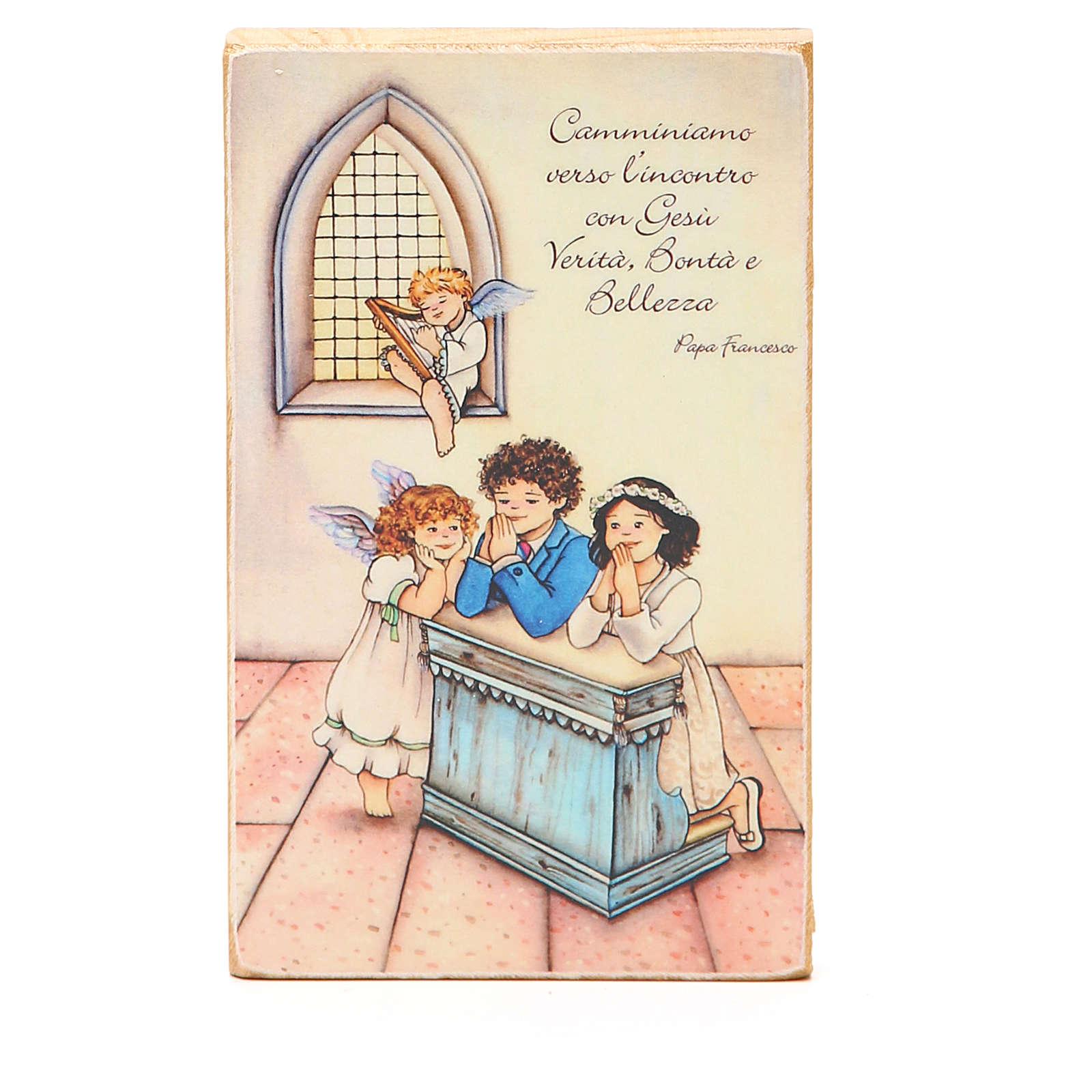 Cadre Communion bois ITA 3