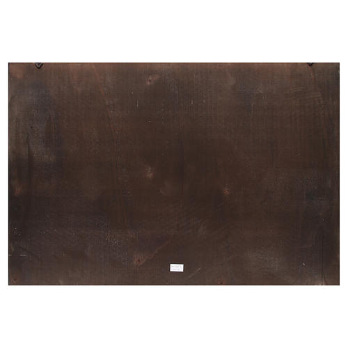Fondo belén madera Ciudad árabe 100x68cm 2