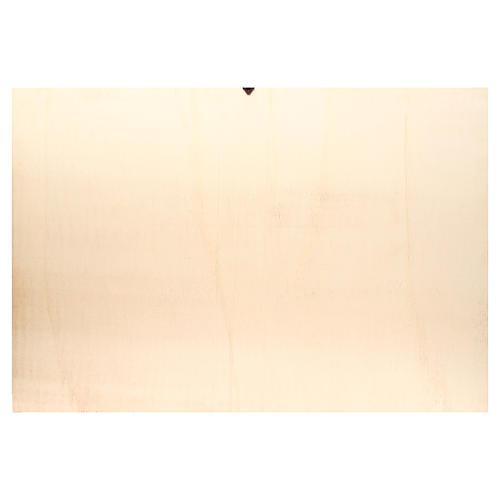 Fondo belén madera paisaje árabe 100x68cm 2