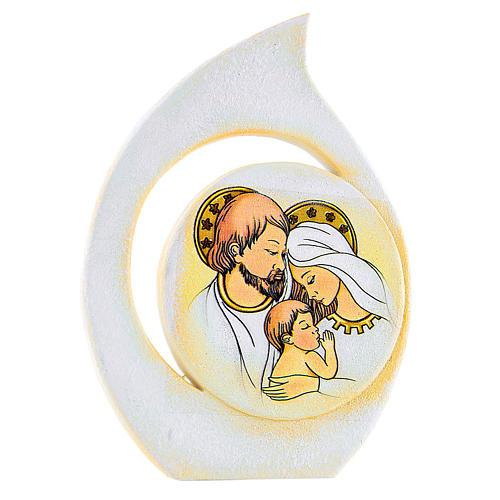 Bomboniera Matrimonio S. Famiglia 8 cm 1